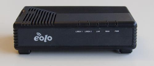Schema Collegamento Eolo : Installazione di eolo box